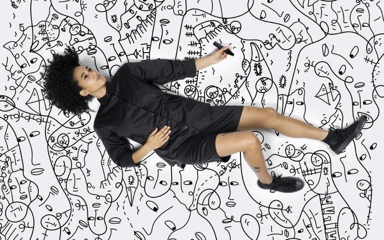 Shantell Martin, Photo by Anton and Irene