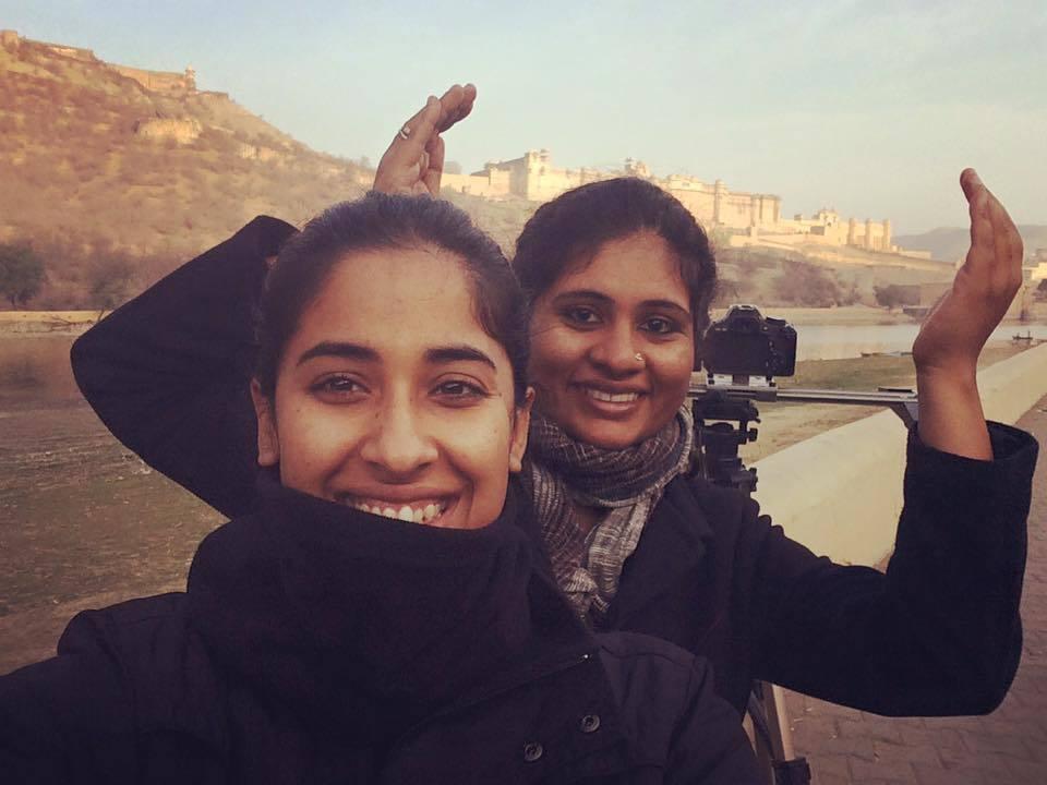 Film directors Keya Vaswani, and Nidhi Kamath