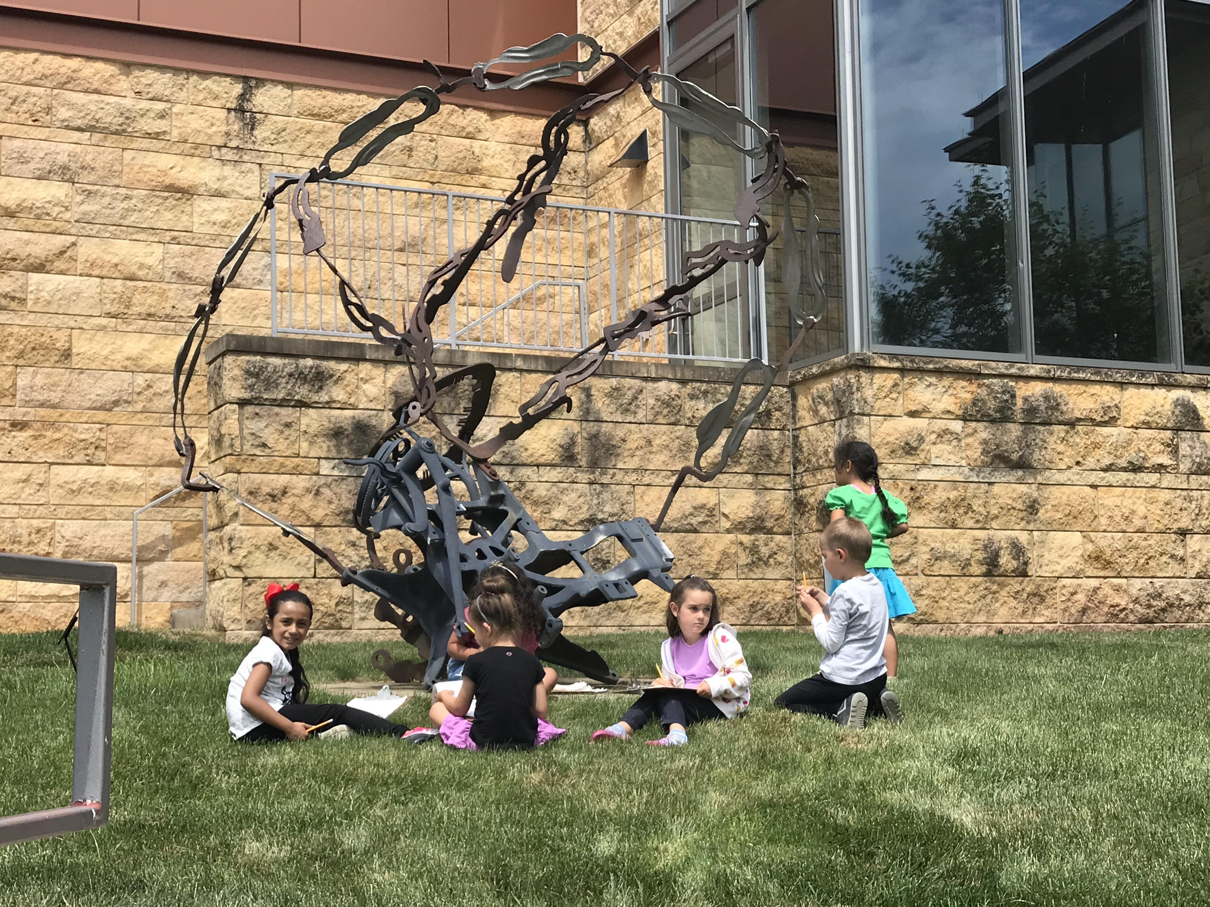 outdoor sculptures