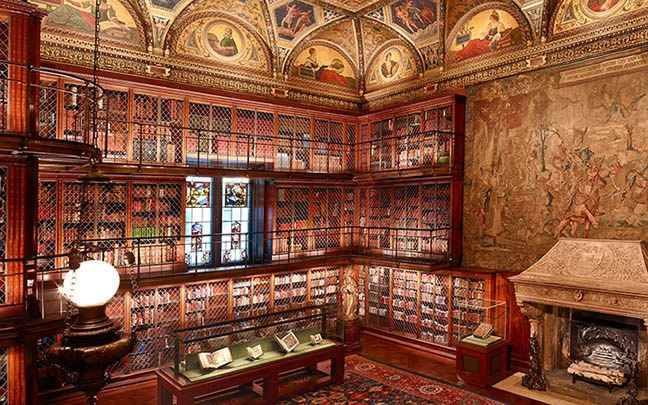 Pierpont morgans library bs