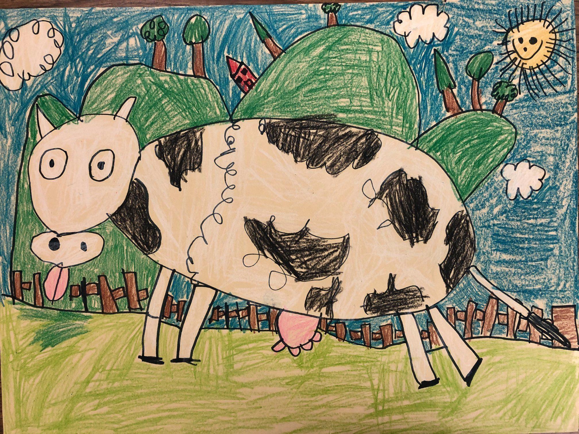 Sophia K, Vance Elementary School, GRADE K, Paper and Crayon, Mr. Segarra