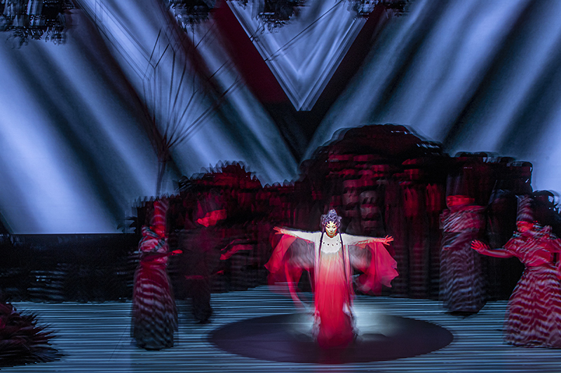 """Paradise Interrupted,"" MGM Cotai Theatre, Macau, © Jennifer Wen Ma, 2019, Photo courtesy of Qian Guangxing"