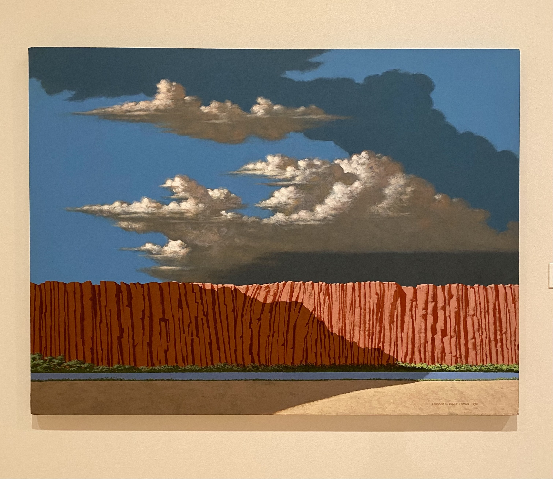 Leonard Everett Fisher, <i> Arizonascape </i>, 1998, Acrylic polymer emulsion on canvas, Gift of the artist