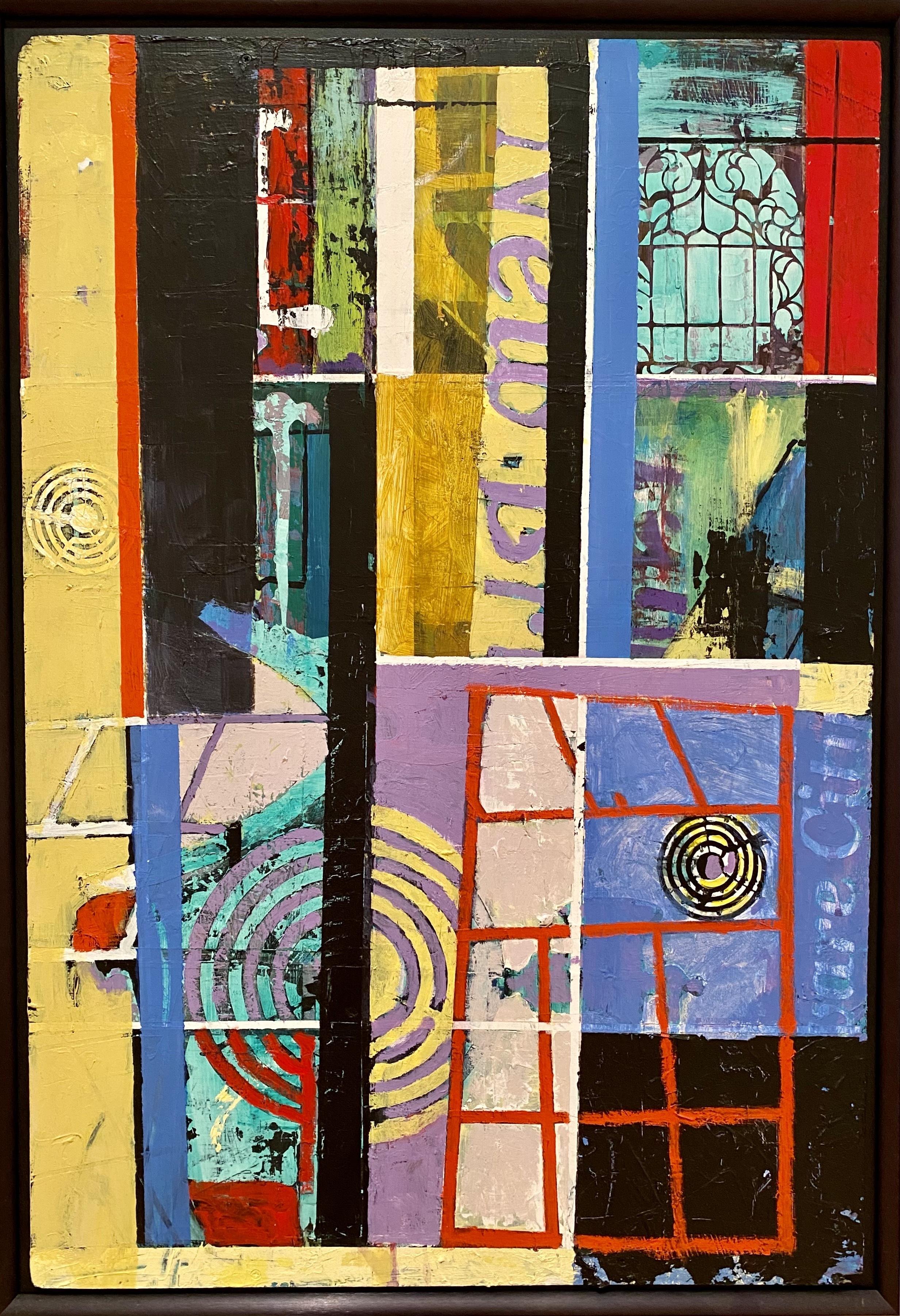 Paul Baylock, <i> Universal I</i>, 2013, Acrylic on plywood, Charles F. Smith Fund