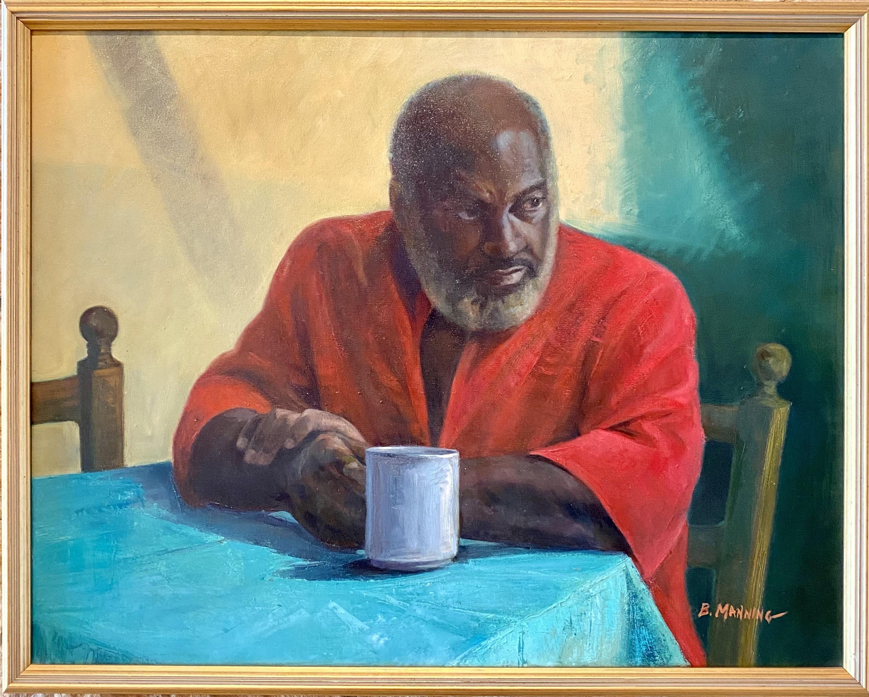 Brenda Manning, <i> Dave (Coffee Break)</i>, 1991, Oil on canvas, Gift of the artist