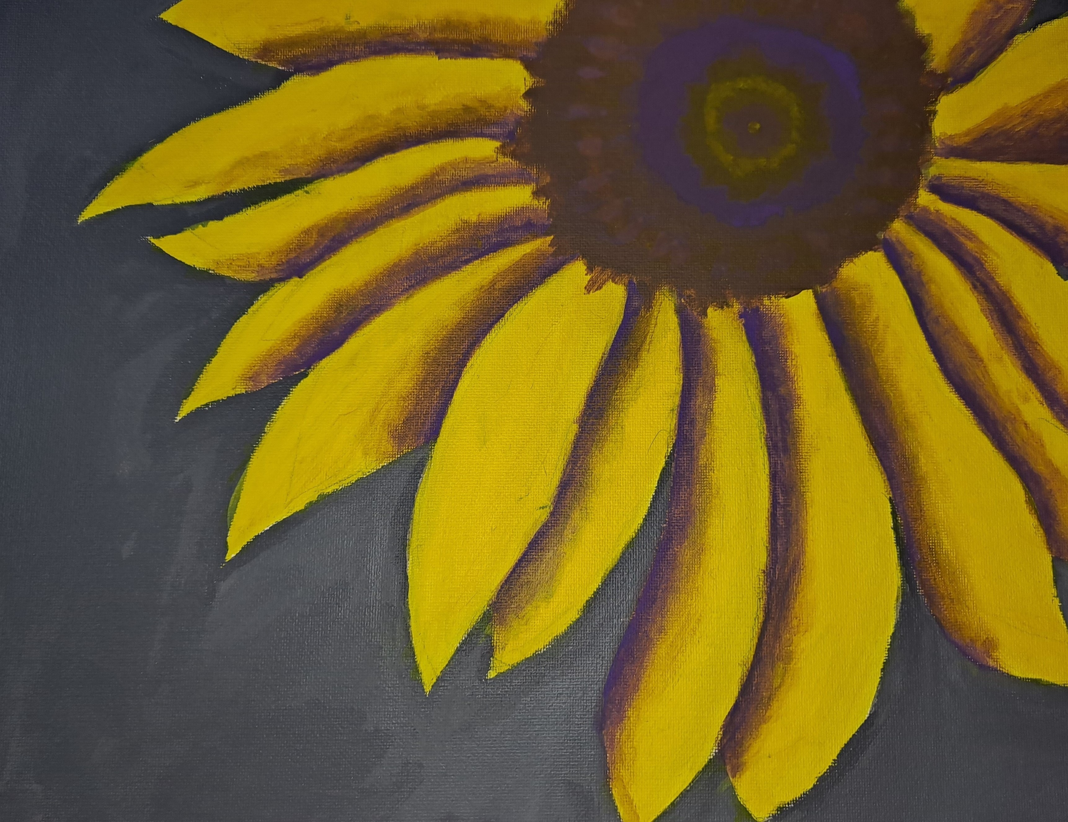 Natalie O, <i>Sunflower</i>, Grade 12, New Britain High School, Recipient of the Cover Art Award